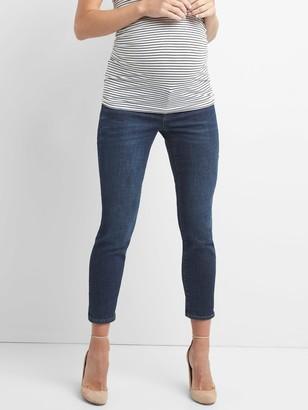 Gap Maternity Inset Panel Girlfriend Jeans