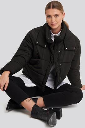 Rut & Circle Carro Puff Jacket Black