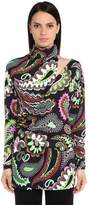 Emilio Pucci High Collar Printed Shirt