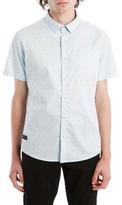 7 Diamonds Men's Beachwood Canyon Woven Shirt