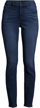 JEN7 by 7 For All Mankind Classic High-Rise Sculpting Skinny Jeans