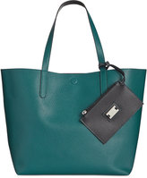 Style&Co. Style & Co. Clean Cut Reversible Tote with Wristlet, Only at Macy's