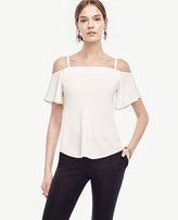 Ann Taylor Strappy Off The Shoulder Top