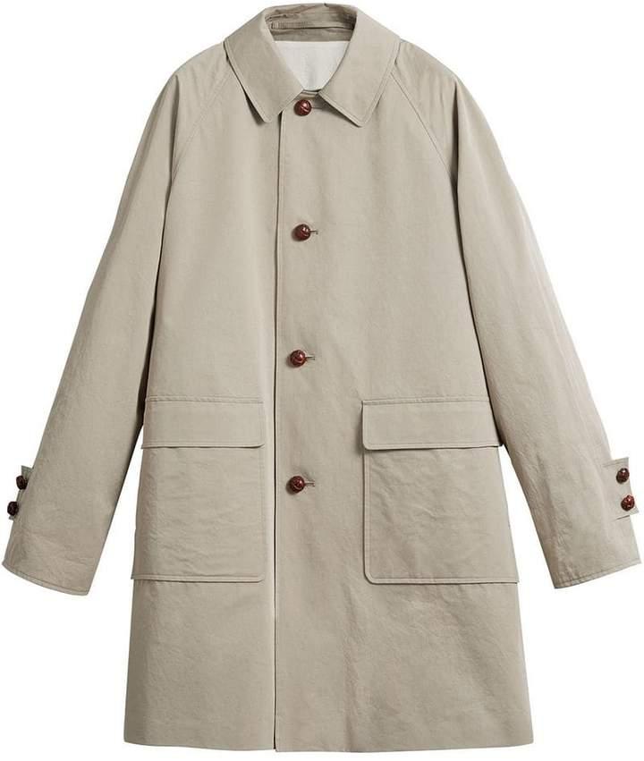 Burberry Reissued waxed gabardine car coat