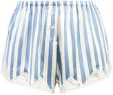 Morgan Lane Josephine striped pyjama shorts