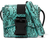 Christopher Kane Printed Leather Shoulder Bag