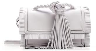 Valentino Fringe Trim Shoulder Bag