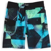 Volcom Toddler Boy's Costa Paste Up Mod Board Shorts