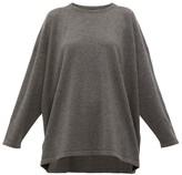 eskandar Boat-neck Cashmere Sweater - Womens - Dark Grey
