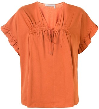 See by Chloe Flowy jersey top