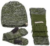 Peppercorn Kids Stretchy Beanie 3 Piece Set,M/L (4-6 Y)