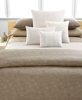 Calvin Klein Home CLOSEOUT! Studio Bedding, Samoa Queen Duvet Cover