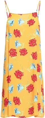 Onia Sasha Crepe Mini Dress