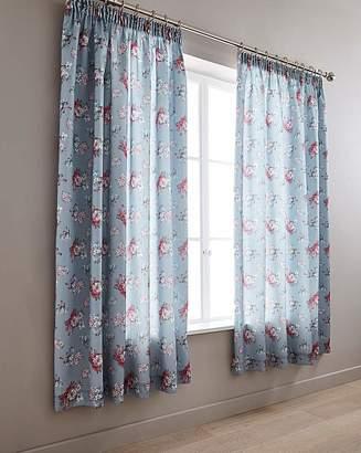 Marisota Anna Faux Silk Pencil Pleat Curtains