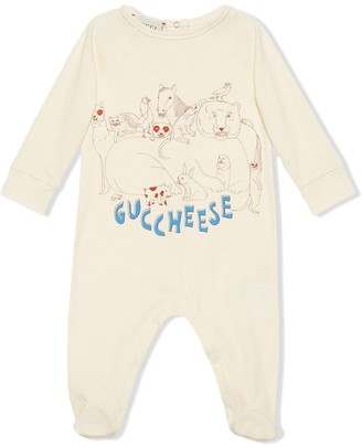 Gucci Kids Guccheese printed bodysuit