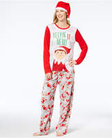 Briefly Stated Women's The Elf On The Shelf Pajama Set with Hat