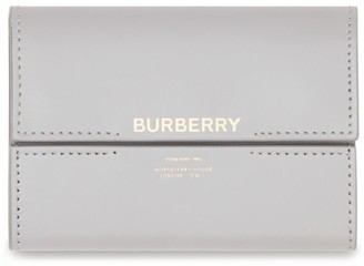 Burberry Leather Horseferry Print Folding Wallet