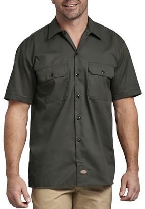 Dickies Big Men's Short Sleeve Twill Work Shirt