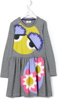 Fendi Bag Bugs print dress