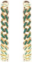 Aurelie Bidermann 'Waikiki' hoop earrings