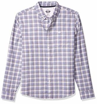 Dockers SF Alpha Icon Shirt Camisa Casual para Hombre Color 69684-0050 Broyles Icon Pembroke+ EG