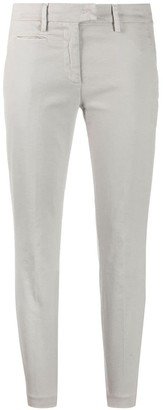 Dondup Cropped Cotton Chinos