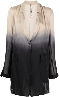 Masnada Dip-Dyed Silk Jacket