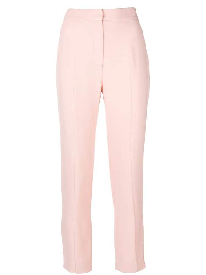 Genny slim-fit cropped trousers