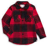 Canadian Olympic Team Collection Youth Unisex Buffalo Check Shirt