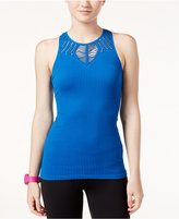 Jessica Simpson The Warm Up Cutout-Trim Rib-Knit Tank Top