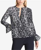 DKNY Bell-Sleeve Blouse