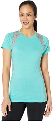 Smartwool Merino 150 Base Layer Color Block Short Sleeve (Oasis) Women's T Shirt