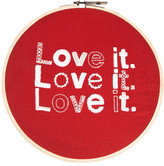 Fab Embroidered Love it