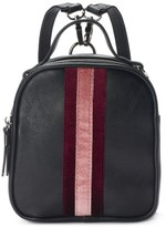 Candies Candie's® Striped Velvet Mini Convertible Backpack
