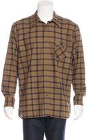 Billy Reid Walland Plaid Flannel Shirt w/ Tags