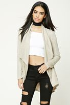 Forever 21 FOREVER 21+ Draped Heathered Cardigan