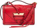 Loewe Barcelona laced small leather shoulder bag