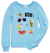 Wildfox Couture Girls' Beach Essentials Pullover, Big Kid - 100% Exclusive
