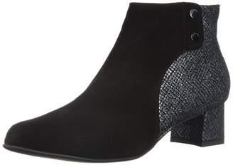BeautiFeel Women's MINA Fashion Boot Black/Gray Tarta 420 Medium EU (11 US)