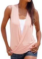 Changeshopping Women's Fashion Hot Summer Vest Top Sleeveless Shirt Casual T-Shirt (S, )