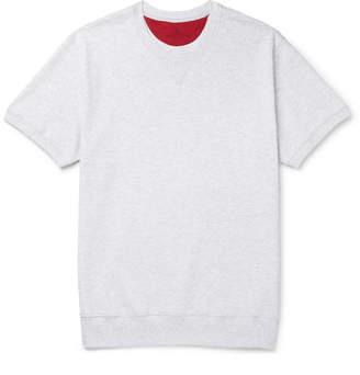Brunello Cucinelli Melange Cotton-Blend Sweatshirt