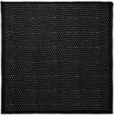 Saint Laurent Polka-dot Wool-twill Scarf - Black