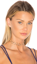 8 Other Reasons Gizelle Choker in Metallic Gold.
