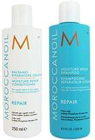 Moroccanoil Moisture Repair Shampoo Plus Conditioner, 8.5 Ounce