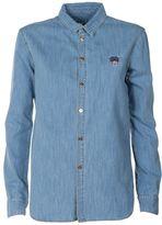 Kenzo Tiger Cotton-denim Shirt