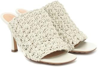 Bottega Veneta Board leather sandals