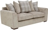 Campbell Fabric 3 SeaterScatter Back Sofa