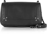 Jerome Dreyfuss Bobi Black Leather Shoulder Bag