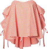 Caroline Constas checked blouse - women - Cotton - M