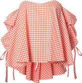 Caroline Constas checked blouse